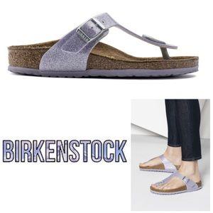 GORGEOUS Birkenstock Gizeh Magic Galaxy sandal 34
